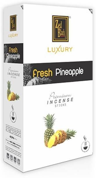 Zed Black Luxury Premium - Pineapple Incense Sticks - Pack of 12 Pineapple