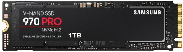 SAMSUNG 970 Pro 1 TB Laptop, Servers, Network Attached Storage, Desktop Internal Solid State Drive (MZ-V7P1T0BW)
