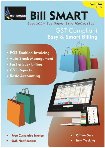Bill Smart Billing Inventory Software For Paper Bags Wholesaler & Suppliers