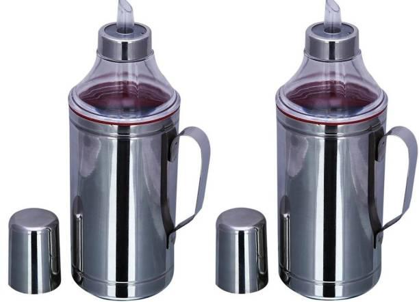 LIMETRO STEEL 1000 ml Cooking Oil Dispenser Set