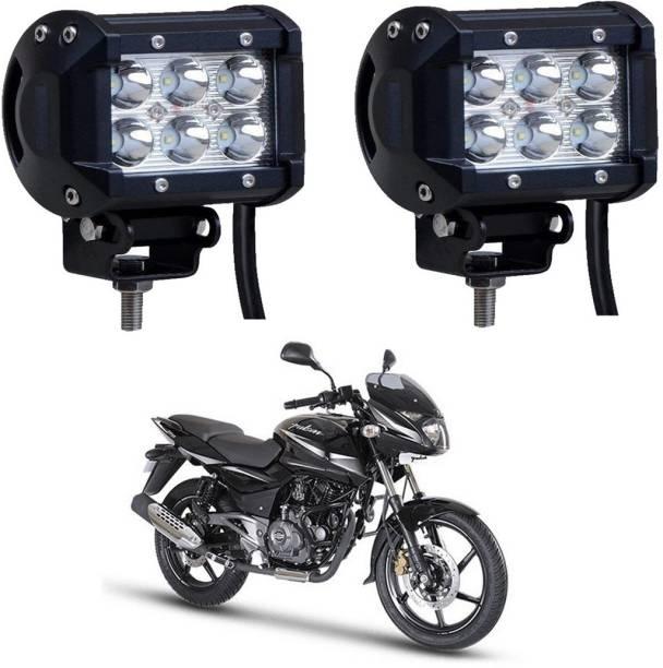 Riderscart a43 Headlight, Fog Lamp Motorbike LED for Bajaj (12 V, 18 W)