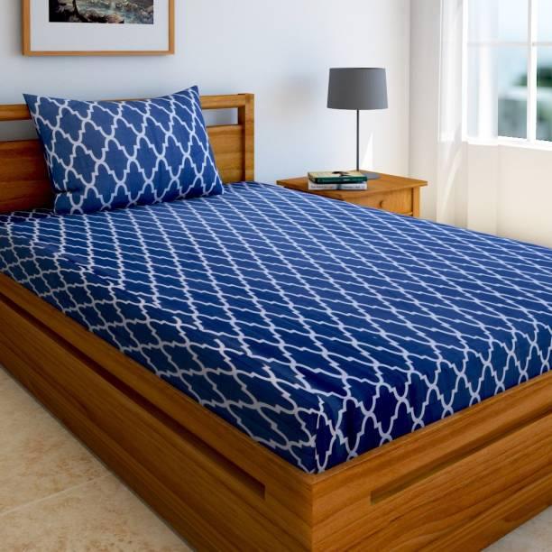 Home Elite 144 TC Cotton Single Printed Bedsheet
