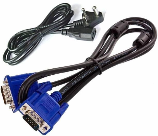 nish 5Pin VGA and Power Cable Combo Set