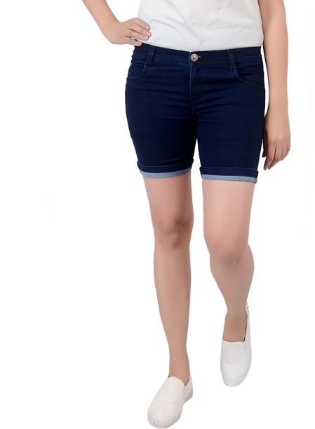 Aside! girls in tight blue jean shorts rare