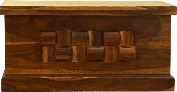 Home Edge Sheesham Wood Solid Wood Trunk