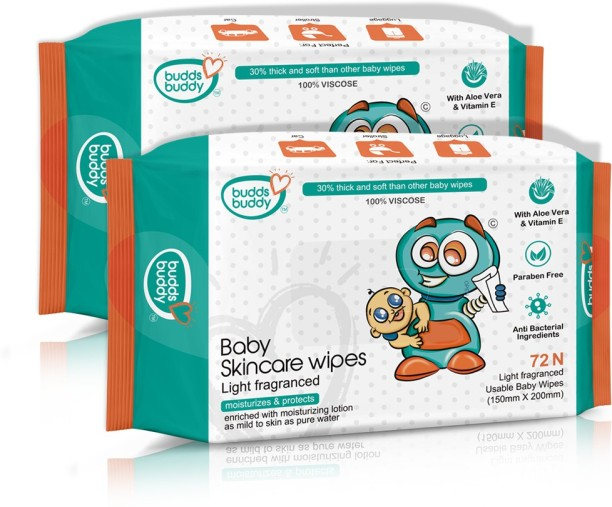 Baby Essentials 12 X BABY DREAM SOFT BABY WIPES WITH ALOE VERA 72 WIPES IN EACH PACK