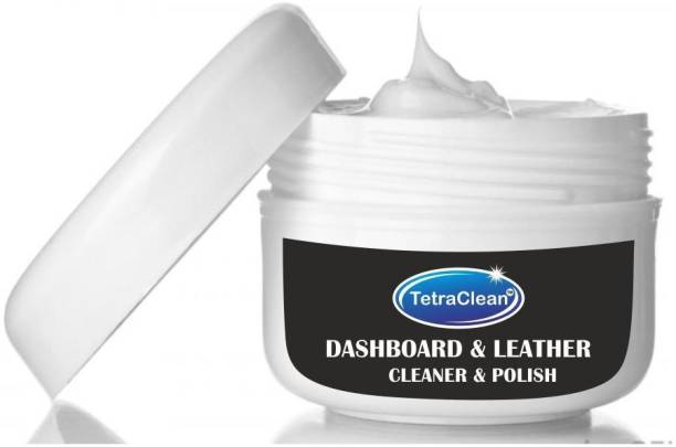 TetraClean Paste Car Polish for Dashboard, Leather, Metal Parts, Chrome Accent