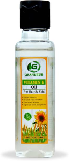 Grandeur Vitamin E Oil for Skin And Hair 3.38FL.OZ.LIQ Hair Oil