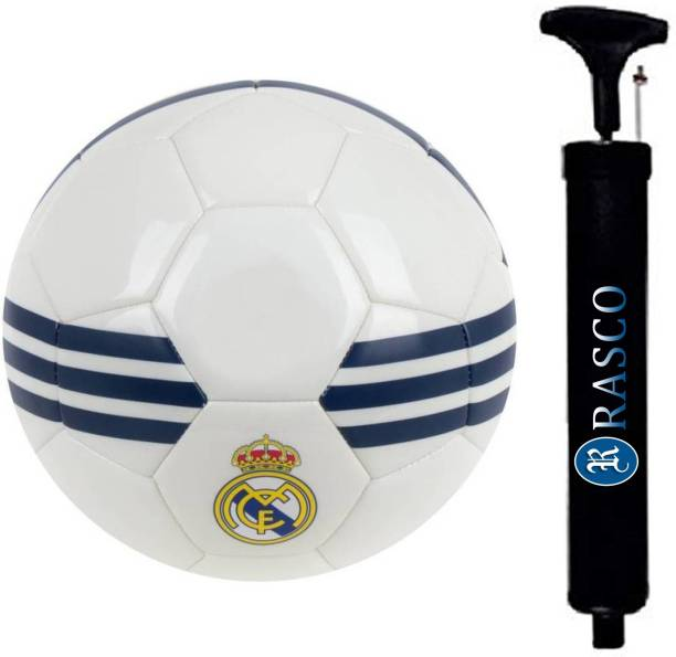 RASCO COMBO MADRID FOOTBALL WITH AIR PUMP Football - Size: 5