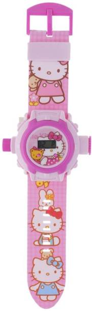 Trade Globe 24 Images Projector Watch - Best Digital Toy Watch for Boys and Girls