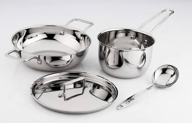 Pigeon ilo 4pcs cookware set Induction Bottom Cookware Set