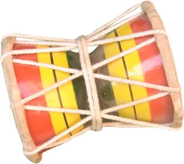 PENNYCREEK damroo 2 Rope & Rings Dholak