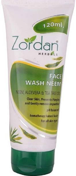 ZORDAN Facewash Neem (120 ml) Face Wash
