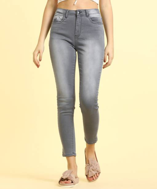 aa874bd9371 Flying Machine Skinny Women Grey Jeans