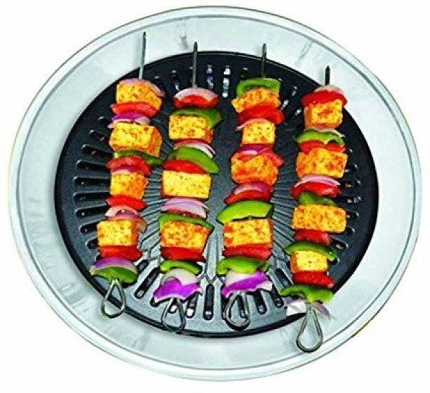 Chefman Gas Grill Indoor Smokeless Barbeque Non-Stick Coating Grill -Black 14-inch Gas Grill