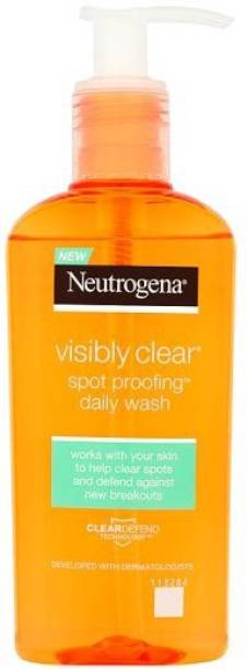 NEUTROGENA VISIBLY CLEAR SPOT PROOFING DAILY WASH 200 ML Face Wash