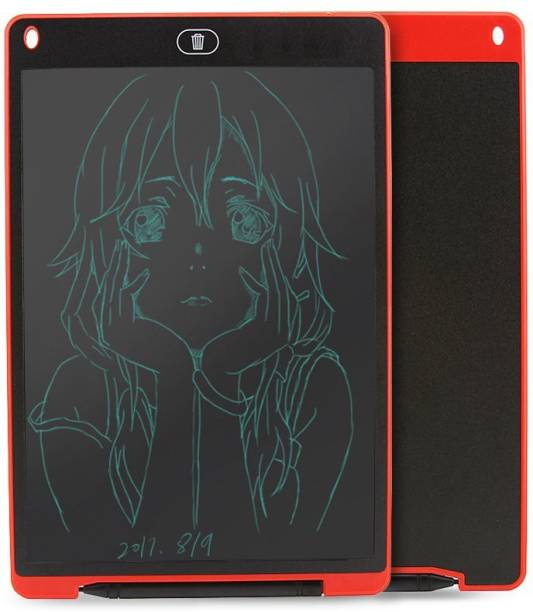 RUBS Portable Ruff Pad E-Writer, 8.5 inch LCD Paperless Memo Digital Tablet Notepad (Black)