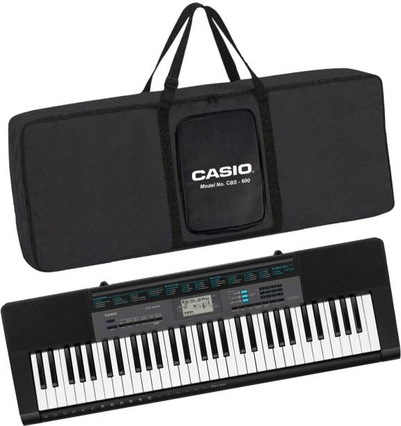 CASIO KS42 + CBC600 Black CTK-2550 + CBC600 Black Carry Case Digital Portable Keyboard