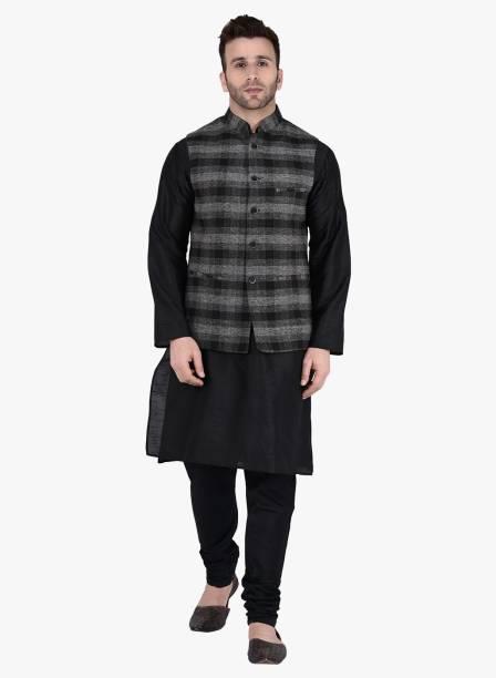 8b3c348e30 Kurta Pajama With Jacket - Buy Designer Kurta Pajama With Jacket ...