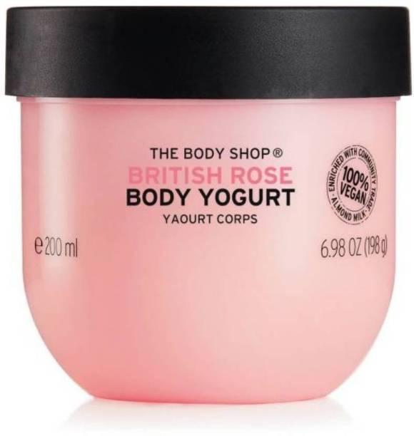 THE BODY SHOP TBS-BRITISH ROSE BODY YOGURT