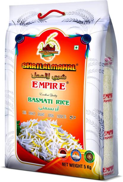 SHRI LAL MAHAL EMPIRE BASMATI RICE 5 KG Basmati Rice (Long Grain, Steam)