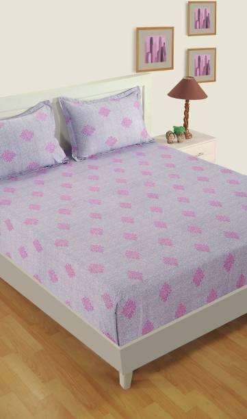 SWAYAM 180 TC Cotton Single Motifs Bedsheet