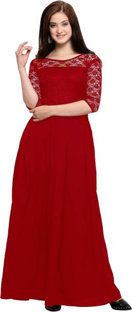 a95b85a507 Red Dresses - Buy Red Party Dresses Online at Best Prices In India ...