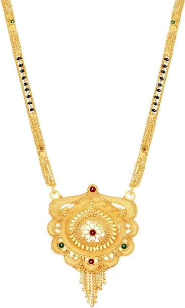aa3f3b9b1866a 1 Gram Gold Plated Mangalsutra - Buy 1 Gram Gold Plated Mangalsutra ...