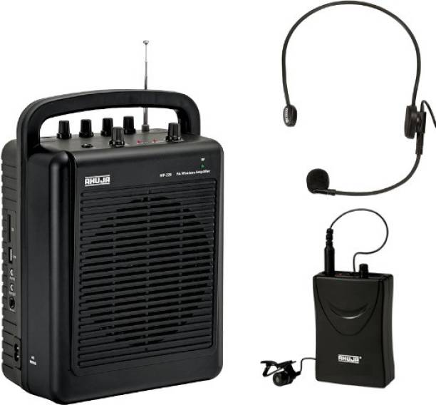 Ahuja WP-220L portable PA system WP-220L with collar/head band microphone Indoor, Outdoor PA System