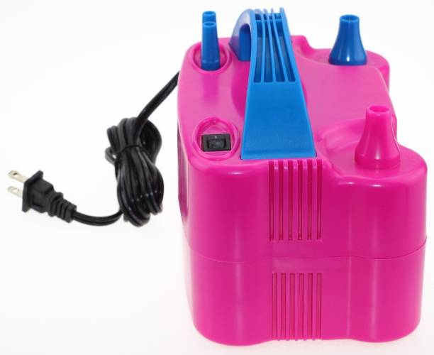 Skys&Ray Pink, Blue electric balloon pump