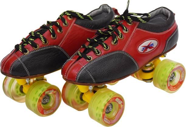Jaspo pro Hyper Quad Shoe Skates(uk size 7) Quad Roller Skates - Size 7 UK