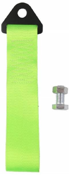 Futurekart 2 Tons Racing Car Tow Towing Strap for Front Bumper Hook Truck (Green) 0.2 m Towing Cable