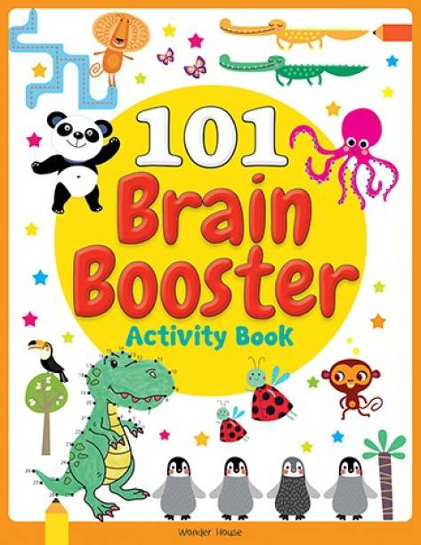101 Brain Booster Activity Book - By Miss & Chief
