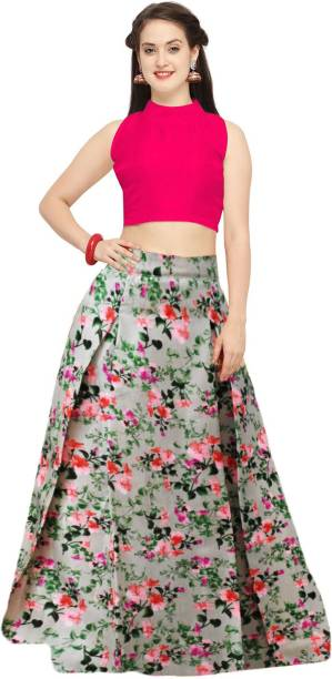 0855e48b5c7601 Crop Top with Lehenga - Buy Crop Top Lehengas online at best prices ...