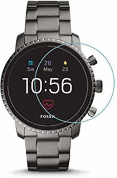 D&Y Tempered Glass Guard for Fossil Q Explorist HR