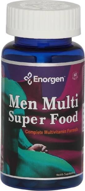 Enorgen Men Multi Super Food - Antioxidant for Prostate, Heart, Eye & Brain Health(750 mg)