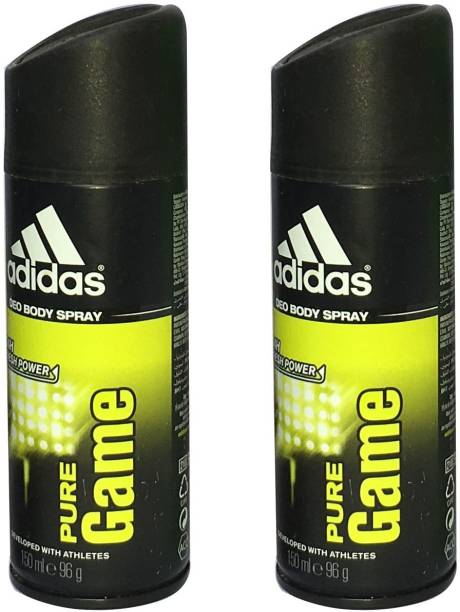 ADIDAS PURE GAME (PACK OF 2) Deodorant Spray  -  For Men
