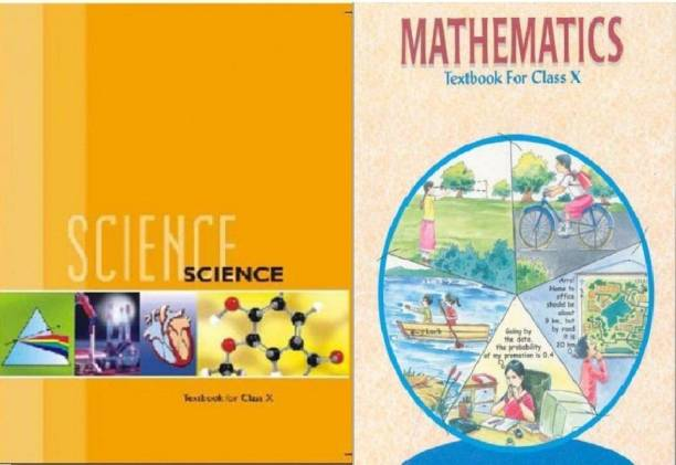NCERT Science And Mathematics Textbook For Class - 10 ( Set Of 2 Books Original By ARUSHI01 Seller )
