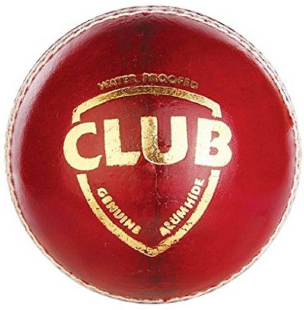 CLUB Made 4 Cut Piece Waterproof Genuine Cricket Leather (Ball pack of 1 ) Cricket Leather Ball
