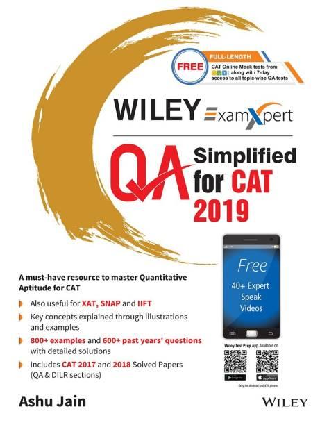 Wiley's ExamXpert Quantitative Aptitude (QA) Simplified for CAT 2019