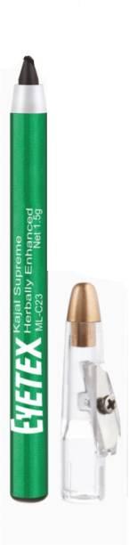 Eyetex Kajal Supreme Herbally Enhanced-Best for children and Adults