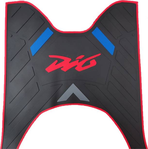 DIO Multi-color Rubber HIgh Quality Honda Dio Two Wheeler Mat