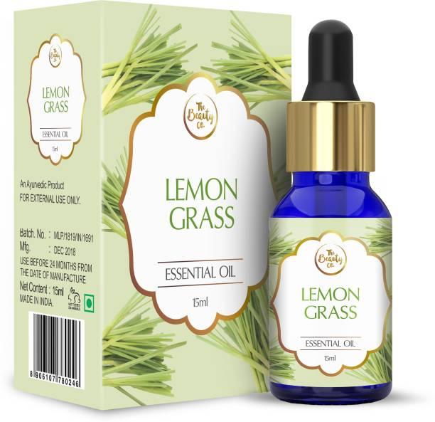 The Beauty Co. Lemongrass Pure Essential Oil