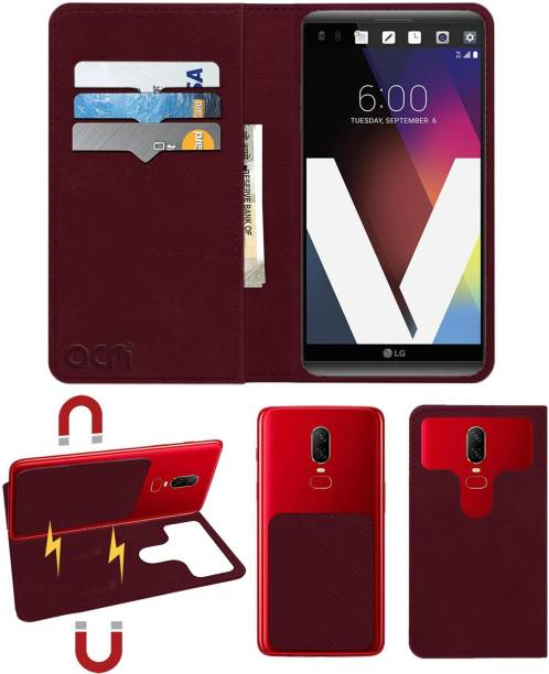 ACM Flip Cover for Lg V20 Lgh990s
