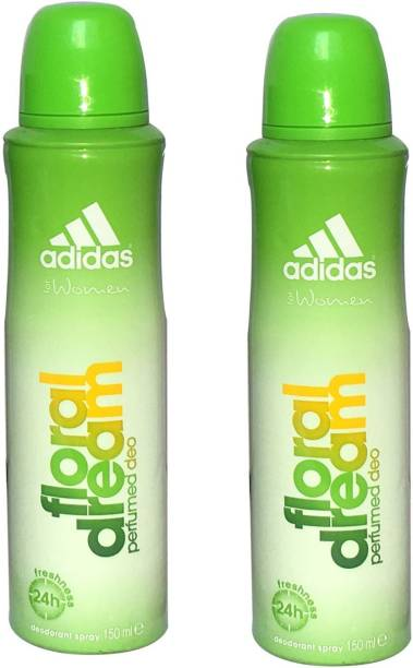 ADIDAS FLORAL DREAM (PACK OF 2) Deodorant Spray  -  For Women