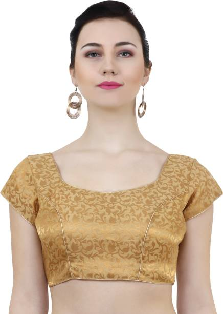 27fa5a90c9798 Gold Blouses - Buy Gold Blouses Online at Best Prices In India ...