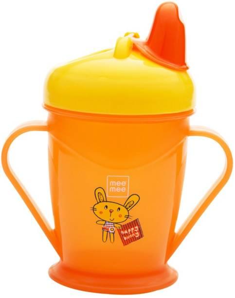 MeeMee Easy Grip Sipper Cup (Orange)  - Plastic