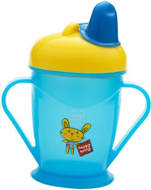 MeeMee Easy Grip Sipper Cup (Blue)  - Plastic