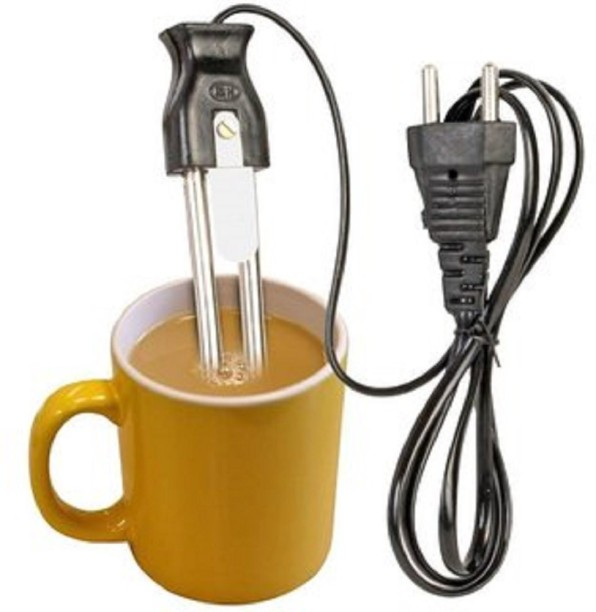 220V Water Heater Boiler Portable 500W Electric Immersion Travel Coffee Tea Soup