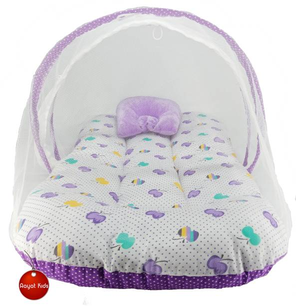 Aayat Kids Cotton Infants Best Quality Size 6 to 12 Months Exclusive Baby Mosquito Nets Bed Luxury Soft M152 Mosquito Net